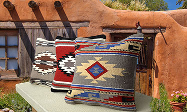 Modern Maya Pillow Covers Southwestern Home Decor